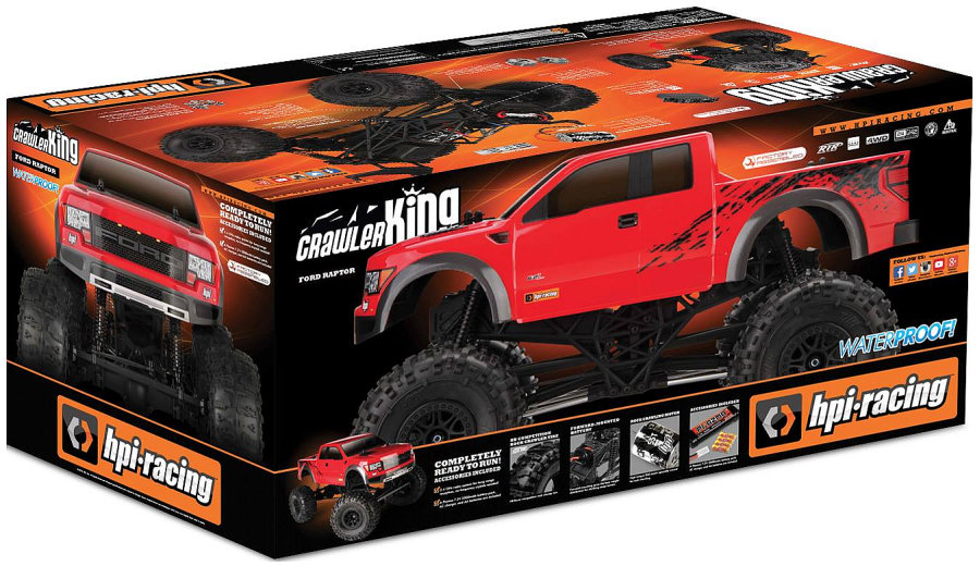 HPI Crawler King Ford Raptor RTR