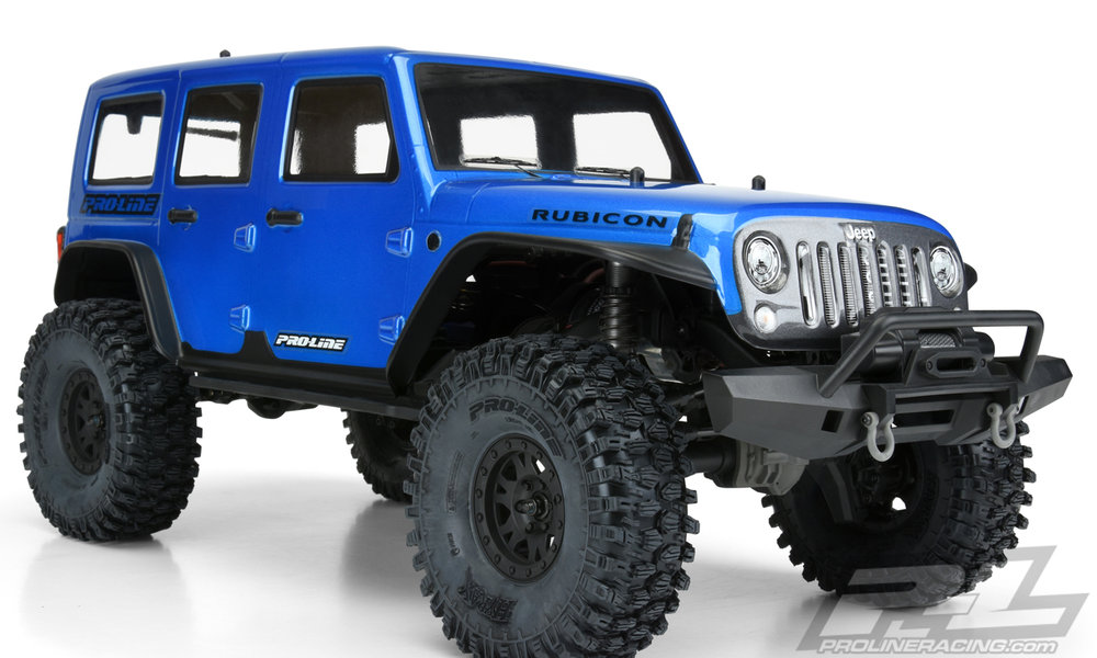 Jeep Wrangler Unlimited Rubicon (Blue) Body (3502-13)