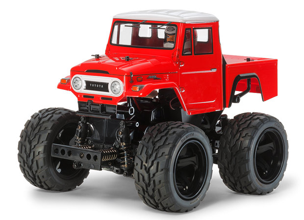 Toyota Land Cruiser 40 Pick-Up Red Painted Body
