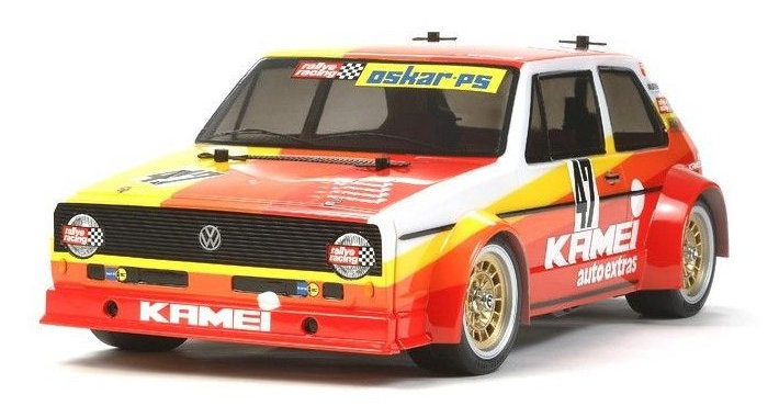 Tamiya VW Golf Mk.1 Racing Group 2 M-05 chassis (47308)
