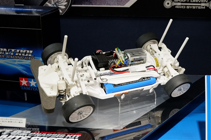 Tamiya TT-02 Chassis White Special (47364)