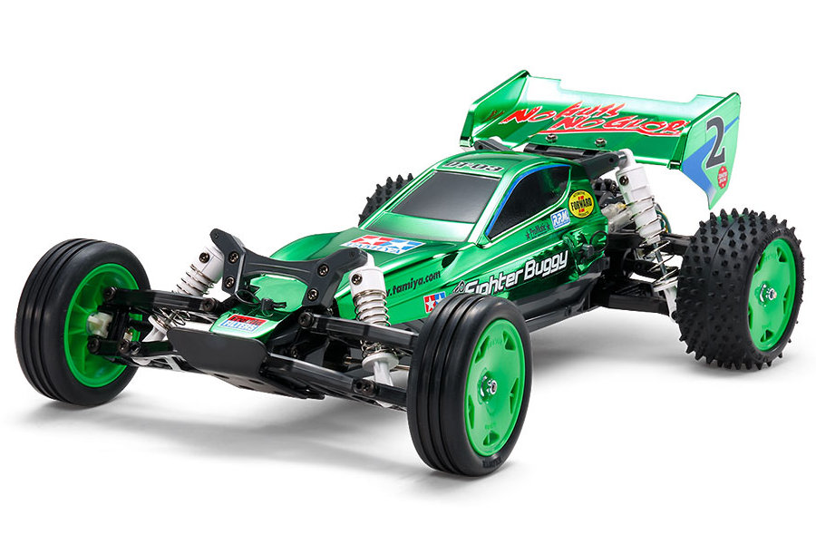 Tamiya Neo Fighter Buggy Green Metallic (47371)