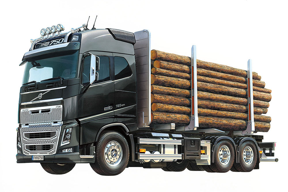 Tamiya Volvo Globetrotter FH16 6x4 Timber Truck (56360)