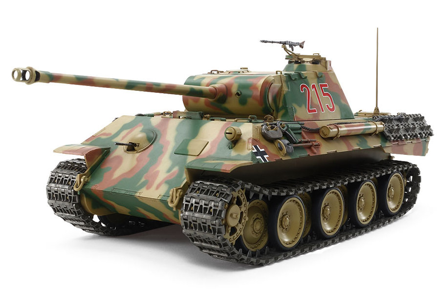 Tamiya German Tank Panther Ausf.A (w/Control Unit) (56605)