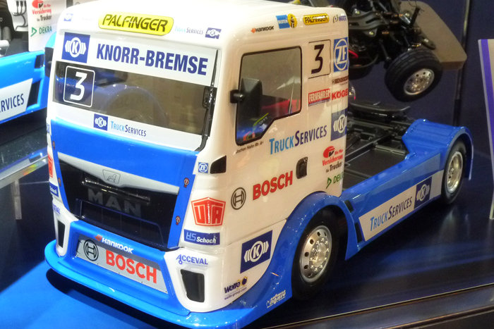 Tamiya Team Hahn Racing MAN TGS TT-01E (58632)