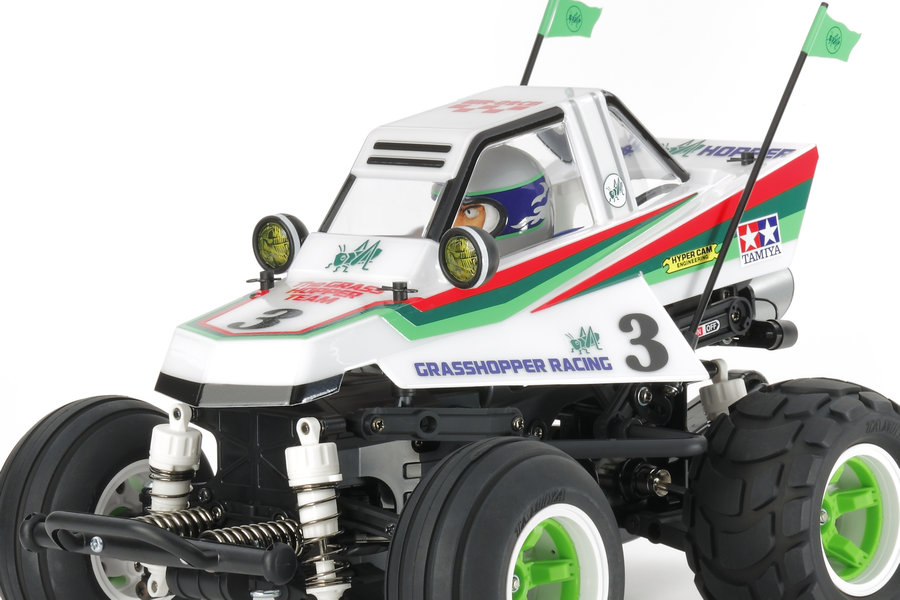 Tamiya 1/10 Comical Grasshopper WR-02CB (58662)