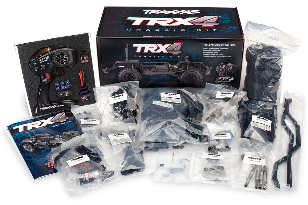 Traxxas TRX-4 Kit (82016-4) box