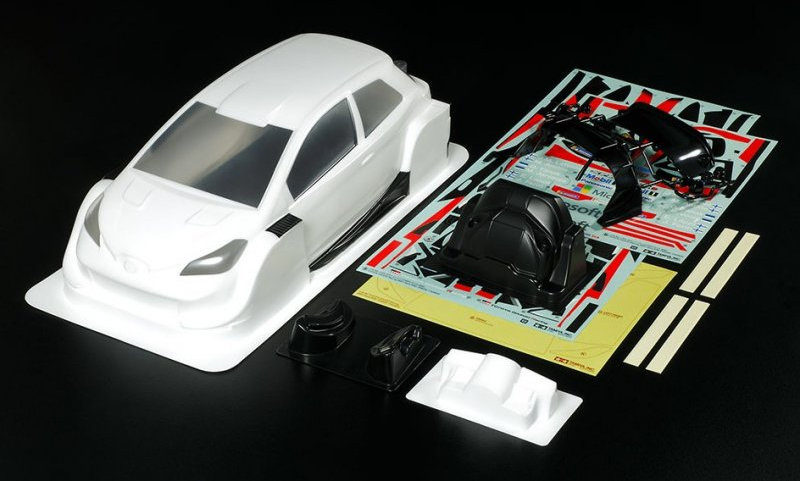 Tamiya Toyota Gazoo Racing WRT/Yaris WRC Body Set (92400)