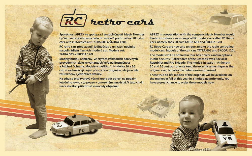 RC Retro Cars Abrex