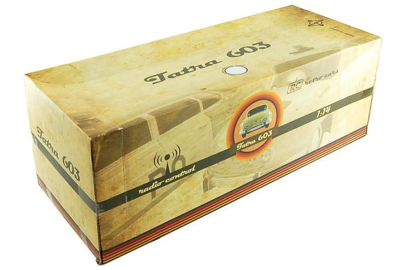 RC Retro Cars Abrex - Tatra 603 box