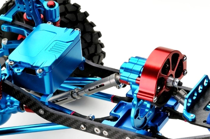 Absima EP Crawler CR-01 4WD Chassis metallic blue