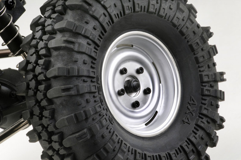 Absima CR2.4 1:10 4WD RTR crawler wheel