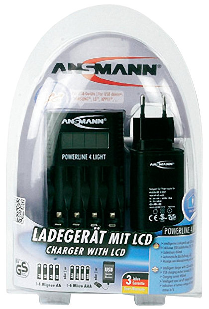 Ansmann Powerline 4 Light