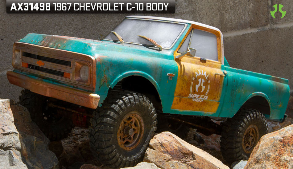 Axial 1967 Chevrolet C-10 Body (AX31498)