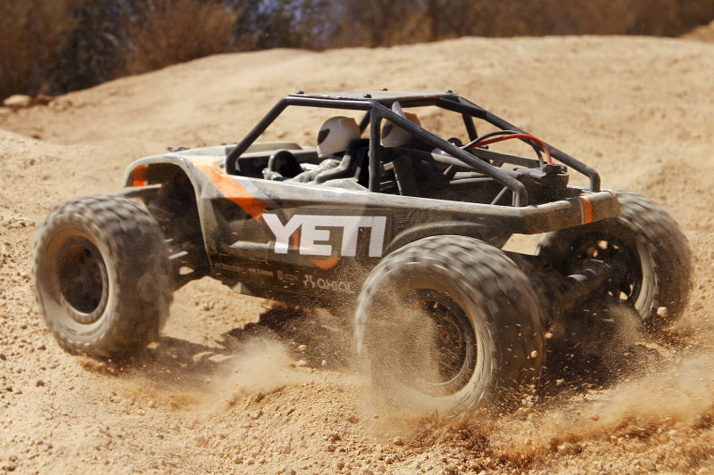Axial Racing Yeti Jr. 1/18 Rock Racer 4WD RTR (AX90054)