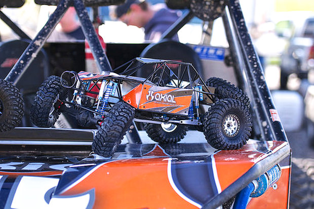 Axial Racing Rock Racer prototype 2014
