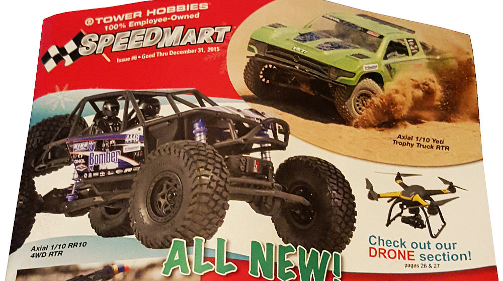 Tower Hobbies 2015 SpeedMart Holiday katalog - Axial RR10