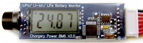 BM6 Lipo Battery Monitor & LV Alarm 6S