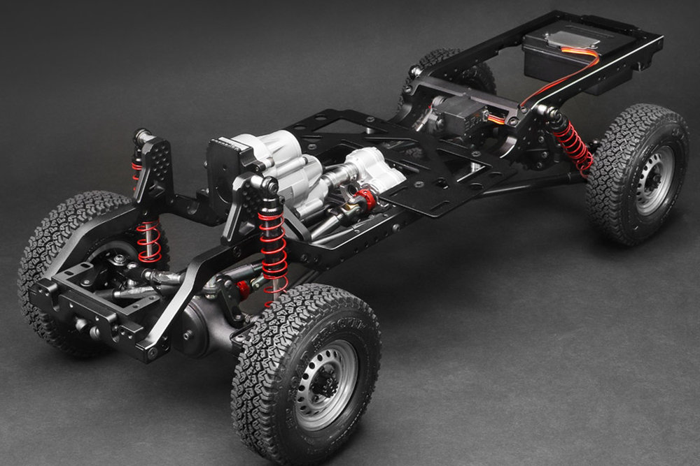 Boom Racing BRX01 1/10 4WD Chassis Kit (BR8002)