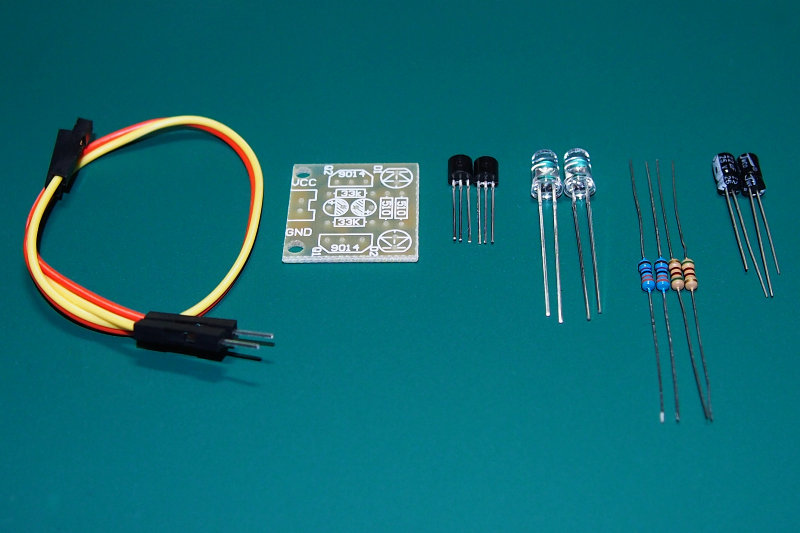 5mm LED Simple Flash Light DIY Kit