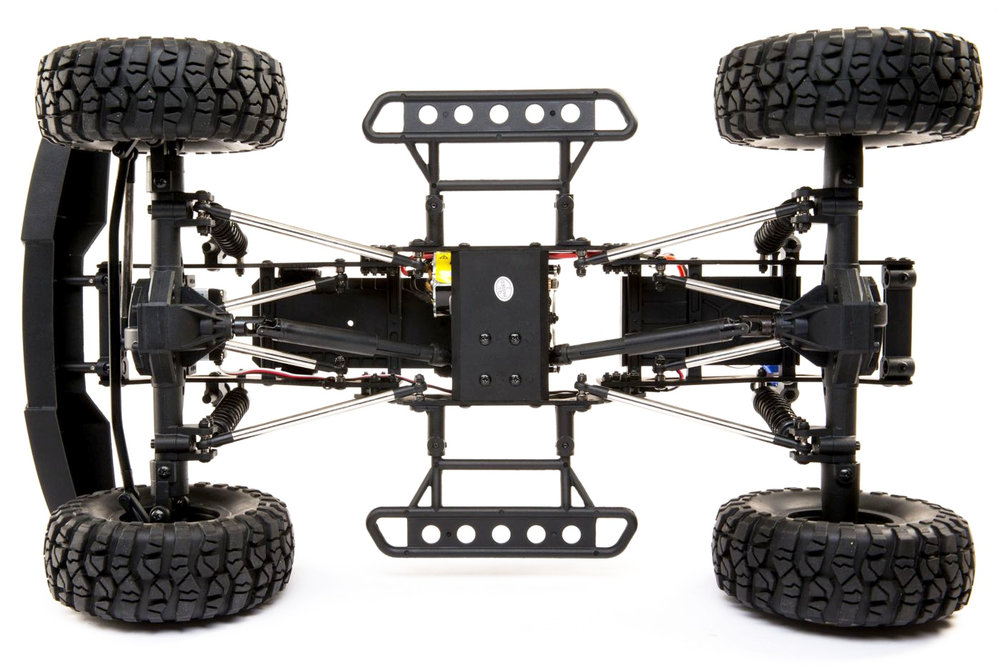 Force RC Northwood 2.2 Scaler Brushed 4X4 RTR chassis