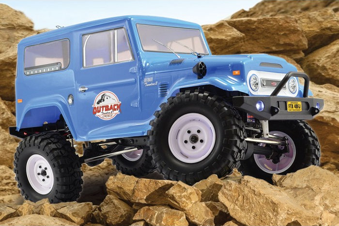 FTX Outback 2 Tundra 4X4 1/10th Trail RTR Truck (FTX5584)