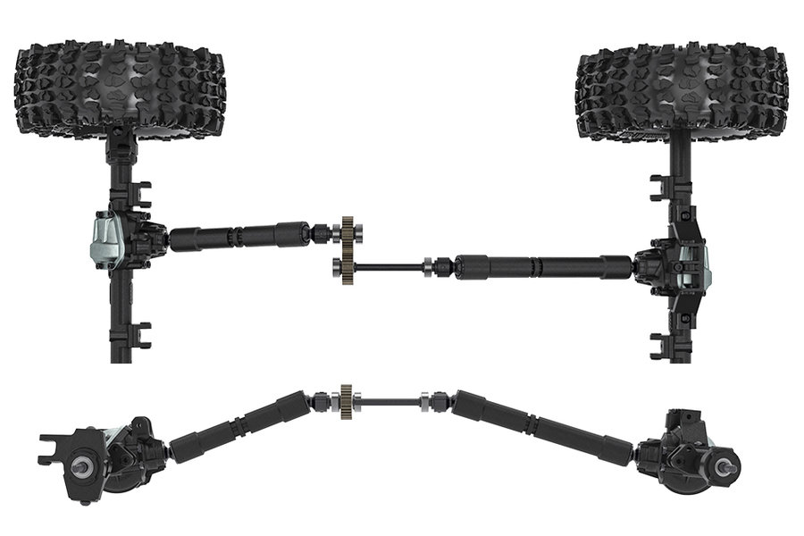 GMADE GS02 BOM TC 4WD Kit (GM57000) chassis