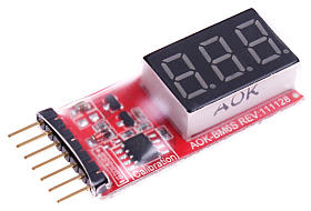Lixx Battery Monitor 2-6s