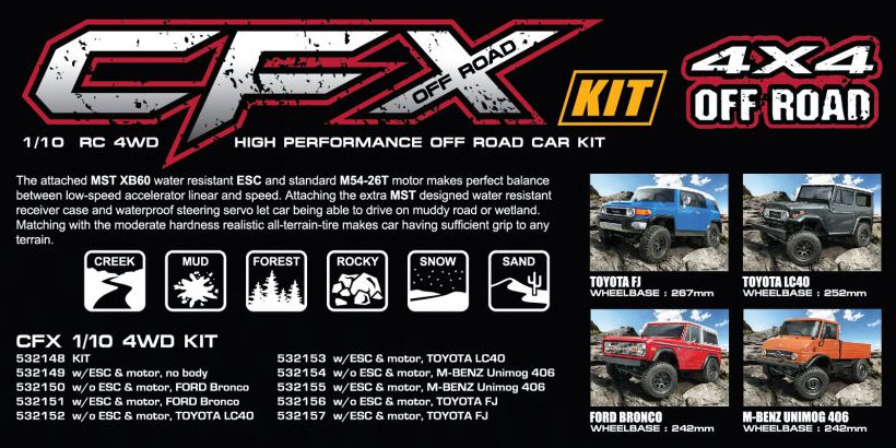 Max Speed Technology CFX kit