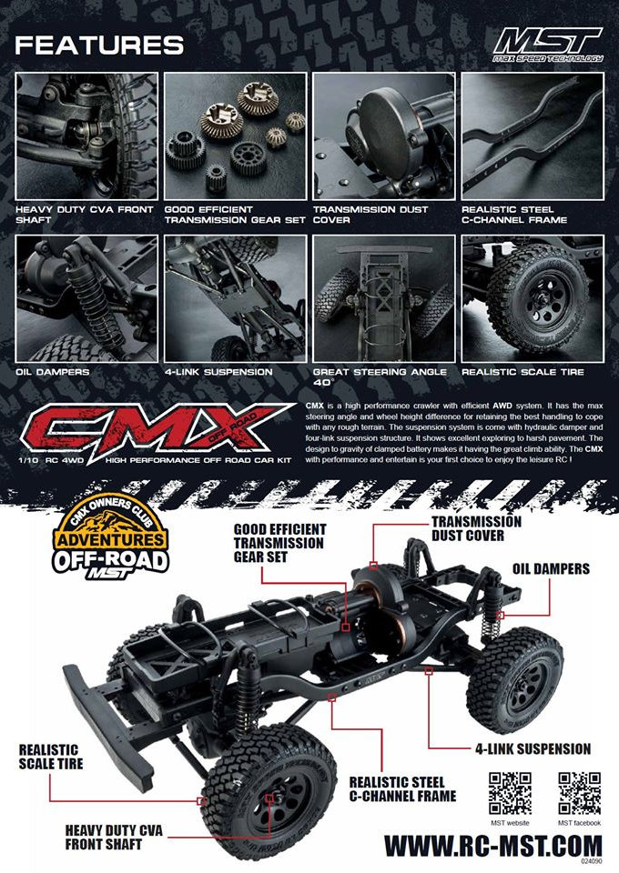 Max Speed Technology CMX leták