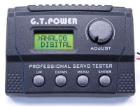 G.T. Power LCD servo tester