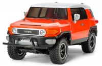Tamiya Toyota FJ Cruiser Orange Painted Body 84401