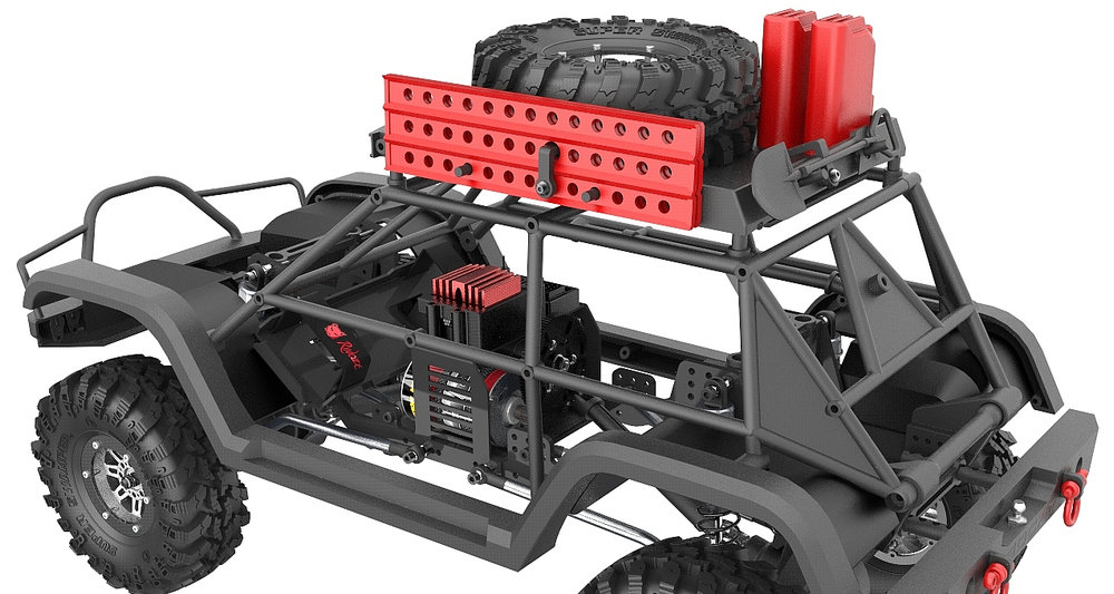 Redcat Everest Gen7 Pro chassis