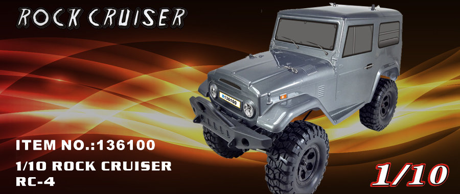 RGT 1/10 Rock Cruiser RC-4