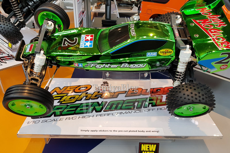 Tamiya 47371 Neo Fighter Buggy Green Metallic