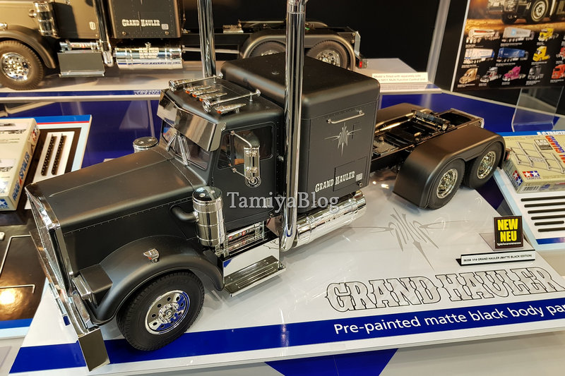 Tamiya 56356 Grand Hauler Matte Black Edition