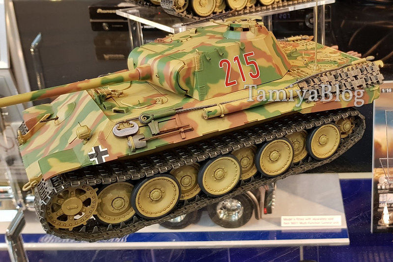 Tamiya 56605 German Panther Tank