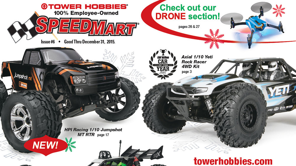 Tower Hobbies 2015 SpeedMart Holiday katalog