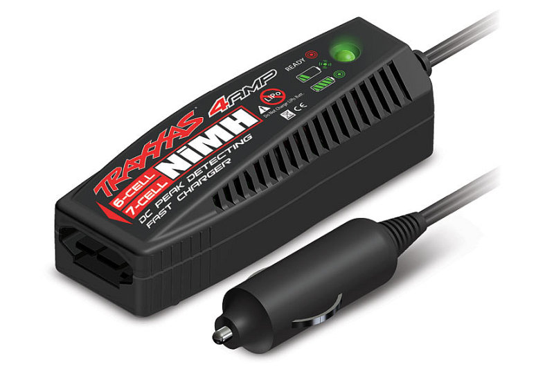 Traxxas 4-amp DC Peak Detecting Fast Charger