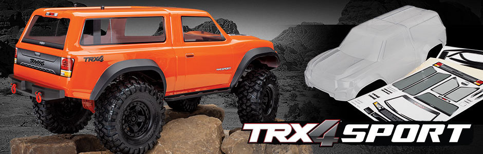 Traxxas TRX-4 Camper body set (8112)