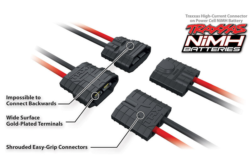 Traxxas High-Current 2nd Generation Connector - NiMH
