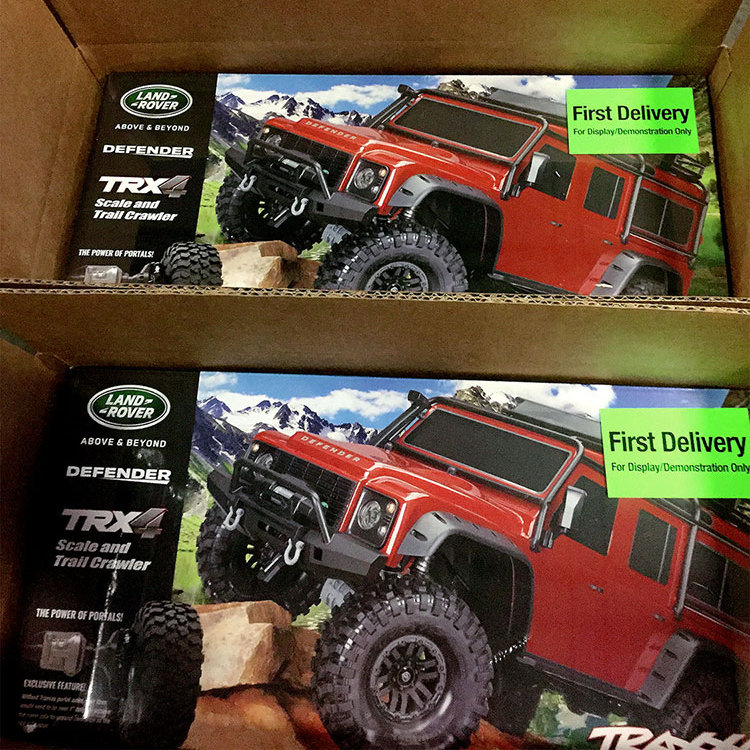 Traxxas TRX-4 1/10 Scale & Trail Crawler First Delivery