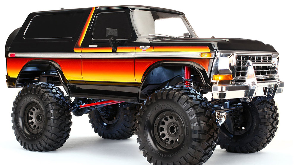 Traxxas TRX-4 1979 Ford Bronco Body Kit