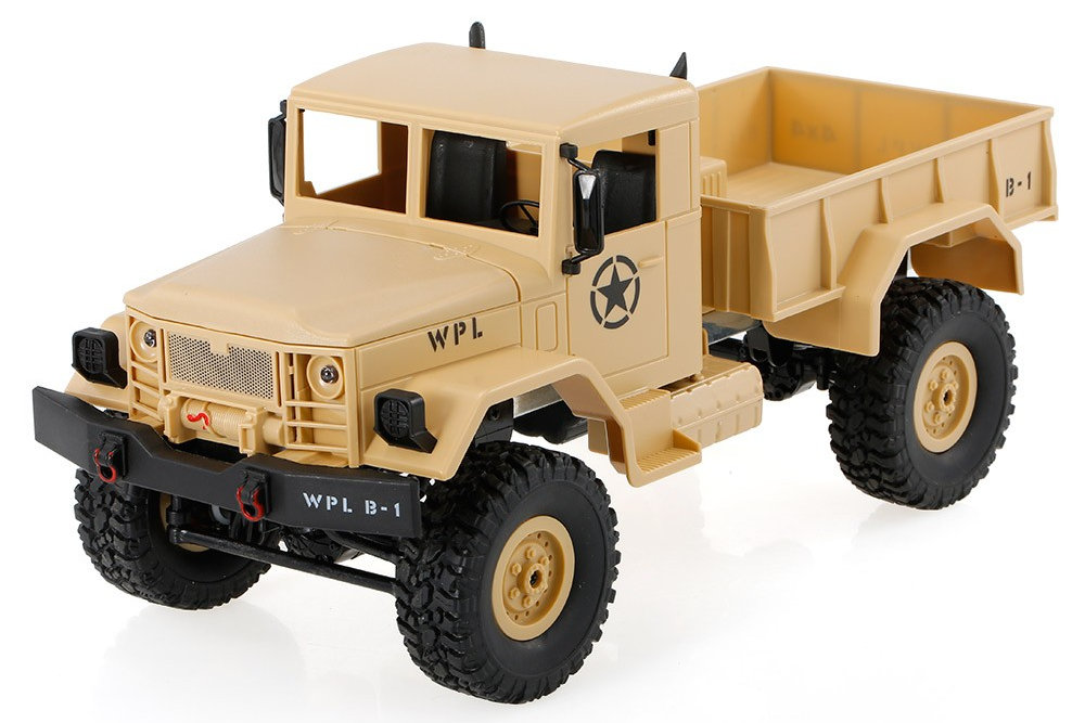 WPL B-1 1/16 4WD Offroad RC Military Truck