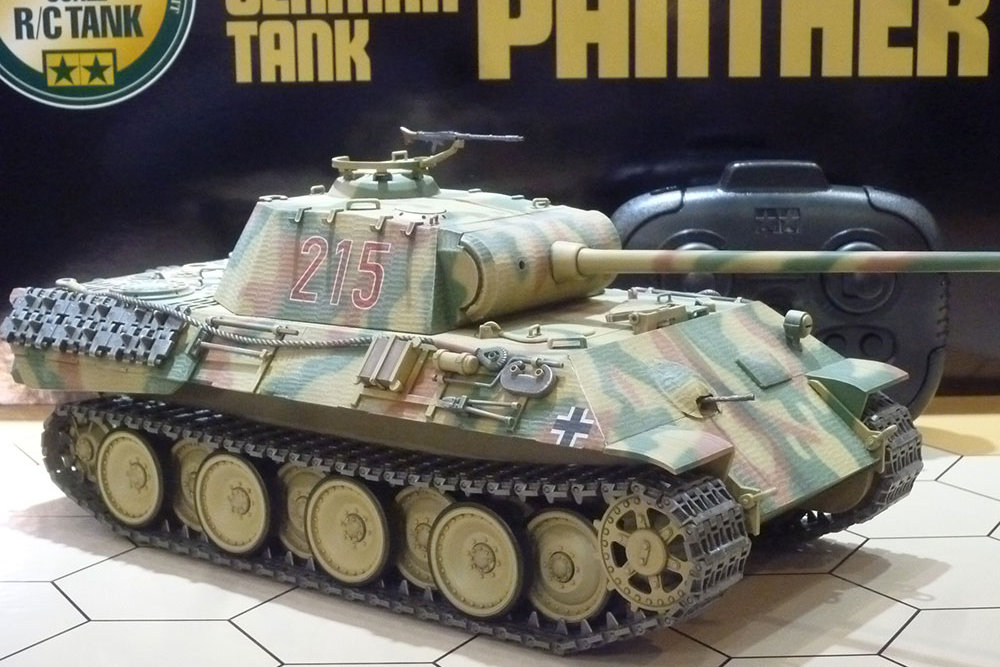 Tamiya 1/25 German Tank Panther Ausf.A (56605)