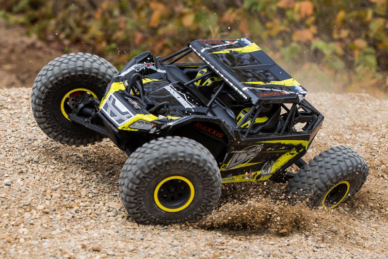 Losi Rock Rey 1/10-Scale Rock Racer RTR yellow